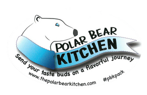 Polar Bear Kitchen Window Decal