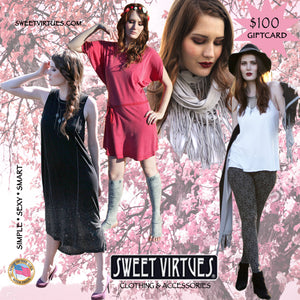 $100 Sweet Virtues Gift Card