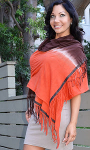 DESIRE WRAP OMBRE' JERSEY SCARF
