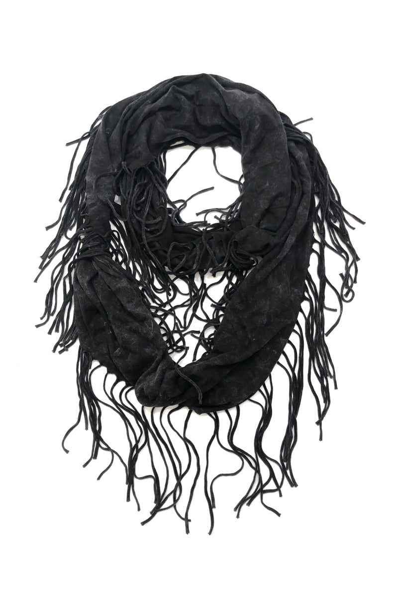 SWEET VIRTUES Women's and Men's -Integrity- Fringe Scarf