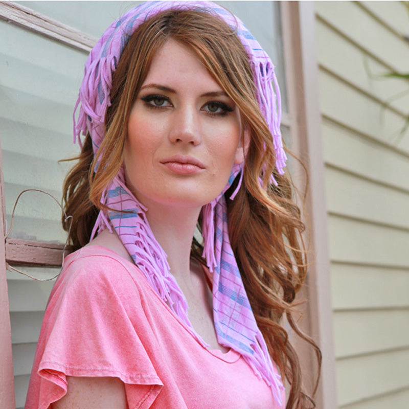 Sweet Virtues-Unity Cotton Jersey Bandana Scarf-Head Scarf