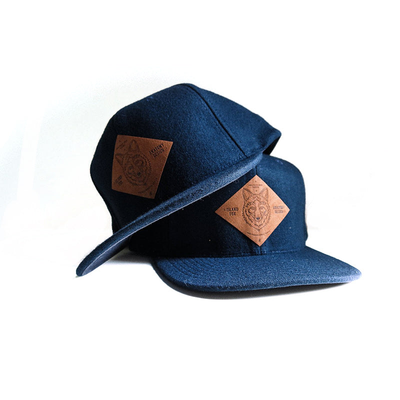 The Island Fox Flat-bill Cap