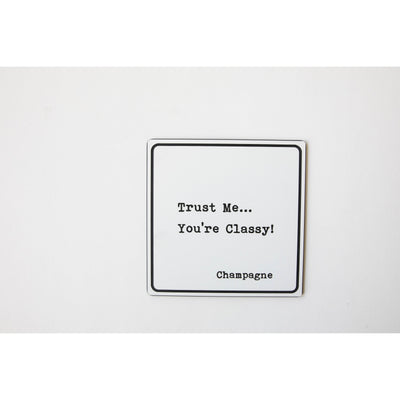 Trust Me' Cocktail Coasters