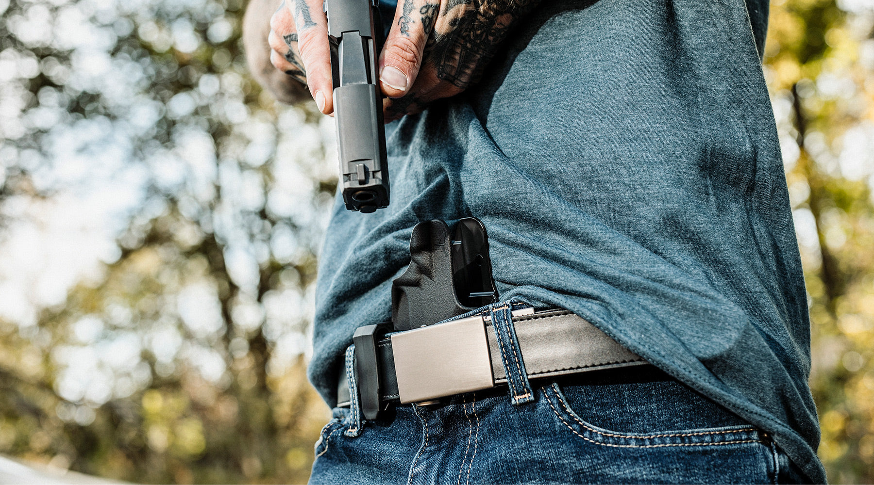 Blade-Tech Holsters Blog Post - Featured Banner IWB