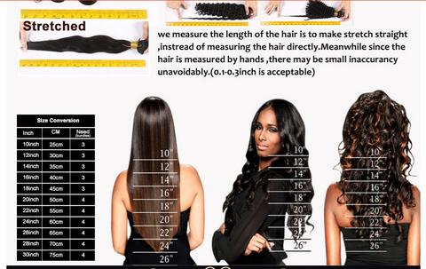 HOW CAN I MEASURE THE LENGTH OF MY BUNDLES?
