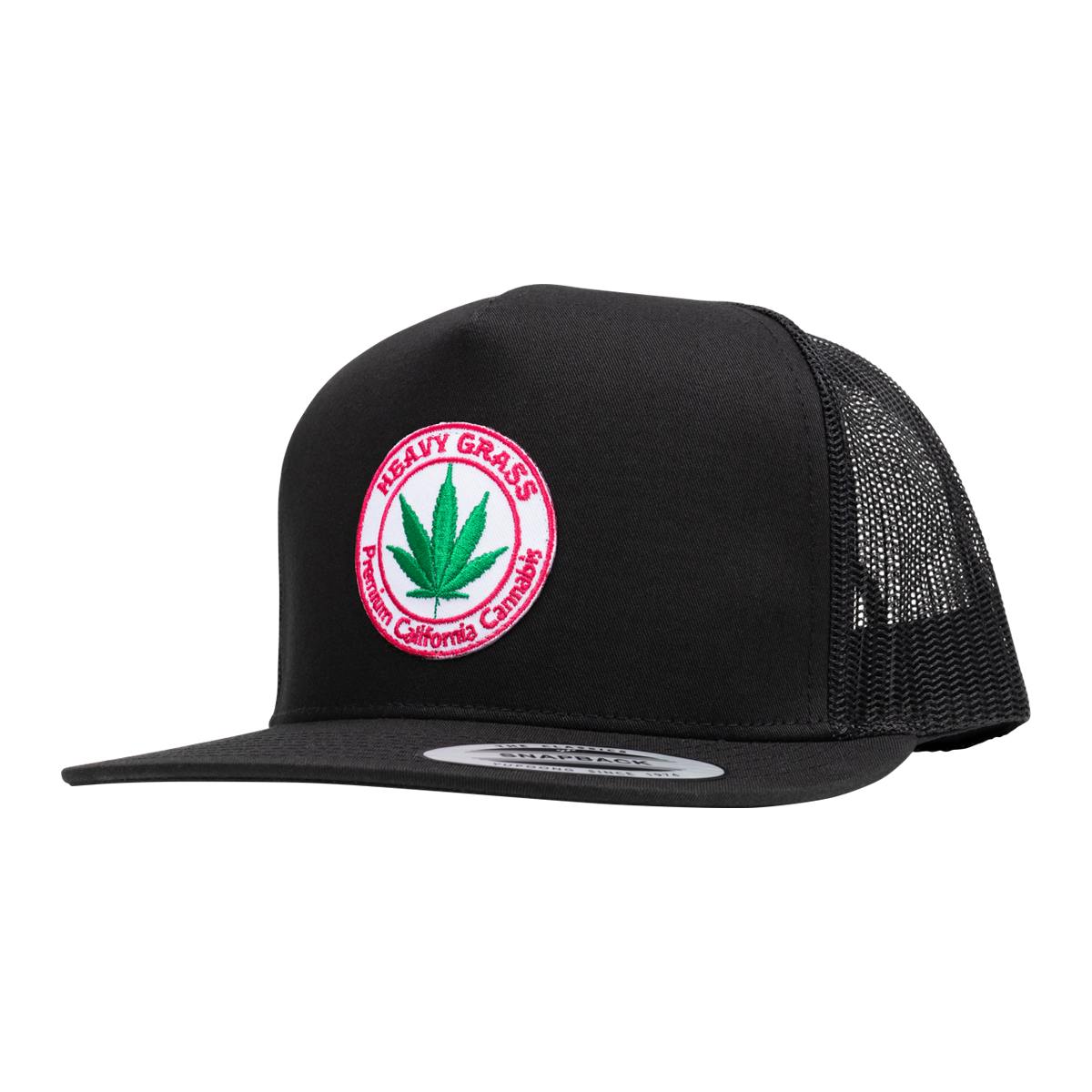 Cannabis Patch Trucker Hat