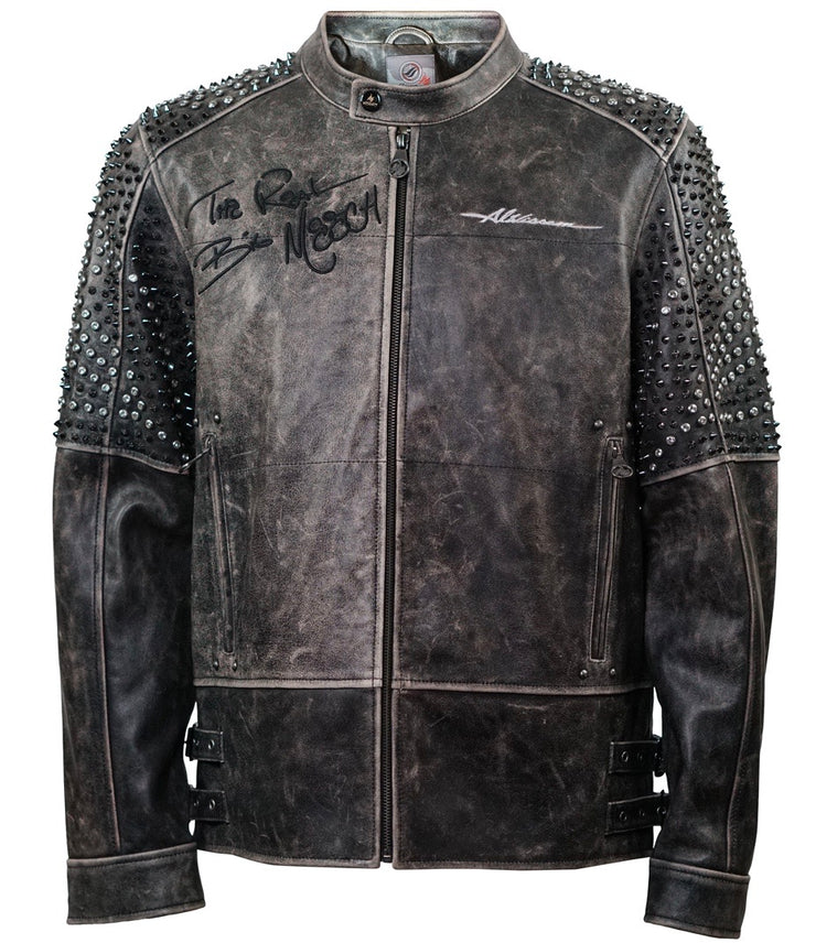 Real Big Meech Biker Jacket - Al Wissam