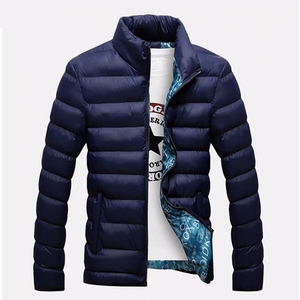 Mens Slim Windbreaker Winter Parka Jacket,, style flaire clothing fashion and gifts