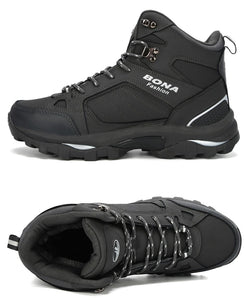 Anti-Skidding Leather Hiking Boots,, style flaire clothing fashion and gifts