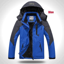 Winter Jacket Mens Thick Velvet Warm Mountaineering Hooded Coat,, style flaire clothing fashion and gifts
