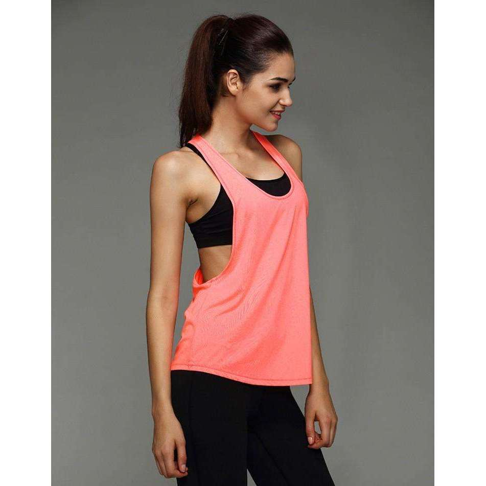 Women Gym Sports T Shirt Yoga Fitness Training Workout Vest,, style flaire clothing fashion and gifts
