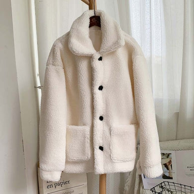 Warm Teddy Fur Coat