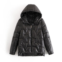 Women Parka Jacket Casual Winter Coat