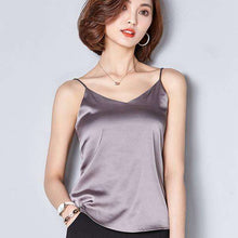 Summer Sleek Silk Top,, style flaire clothing fashion and gifts