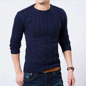 Winter Sweater Mens O-Neck Casual Knit Jumpers Sweaters Long Sleeve,, style flaire clothing fashion and gifts