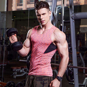 Quick Dry Running Sleeveless Vest Man's Workout Tight Sports And Gym Tank Top,, style flaire clothing fashion and gifts