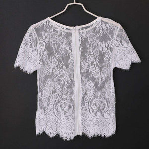 Lightweight Lace Blouse,, style flaire clothing fashion and gifts