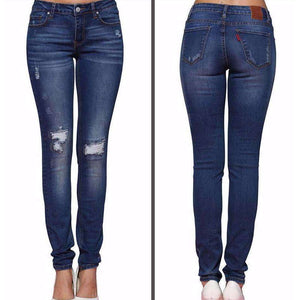 Womens Ripped Stretch Skinny Jeans,, style flaire clothing fashion and gifts