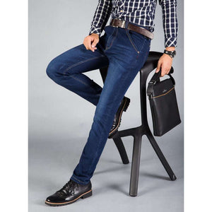 Mens Skinny Jeans Stretch Classic Blue and Black Slim,, style flaire clothing fashion and gifts