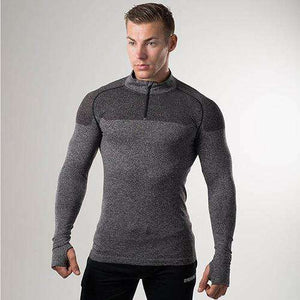 Long Sleeve Shirts Fitness Quick Dry Men Running T-Shirt Gym Clothing,, style flaire clothing fashion and gifts