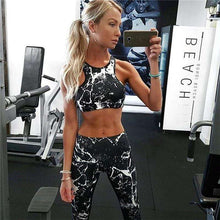 Two Piece Women Fitness Set Workout Leggings And Bra,, style flaire clothing fashion and gifts