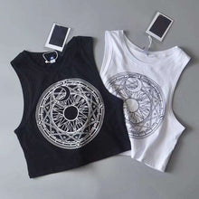Indie Gothic Moon Sun Croptop,, style flaire clothing fashion and gifts