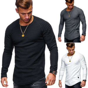Striped Slim Fit Long Sleeved Tshirt,, style flaire clothing fashion and gifts