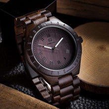 Mens Dress Wooden Quartz Watch,, style flaire clothing fashion and gifts