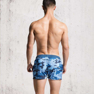 Camouflage Mens Beach Quick Dry Bermuda Surf Swimming Shorts,, style flaire clothing fashion and gifts