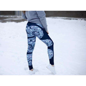 Fitness High Waist HeartBeat Leggings,, style flaire clothing fashion and gifts