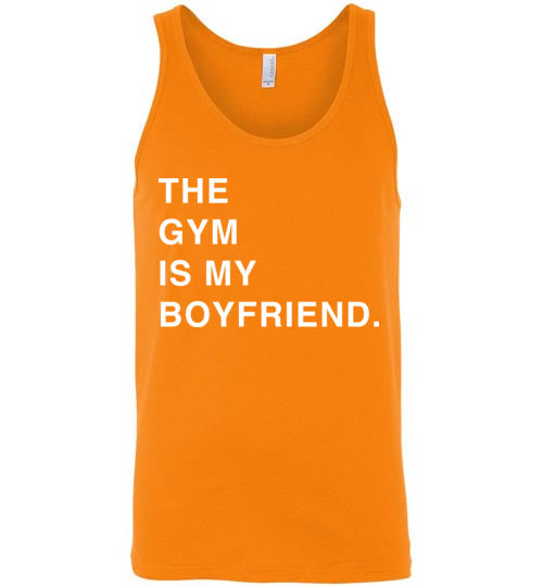 The Gym Is My Boyfriend Tank Top