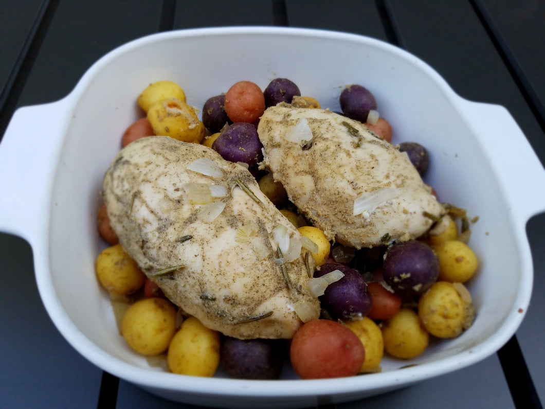 Herbed Chicken with Baby Potatoes - Ready. Chef. Go!