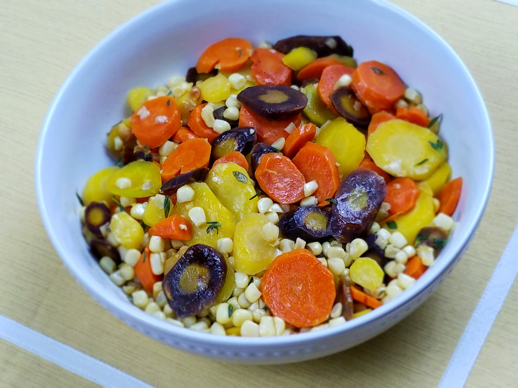 Sweet Sliced Corn and Carrot Medley - Ready. Chef. Go!