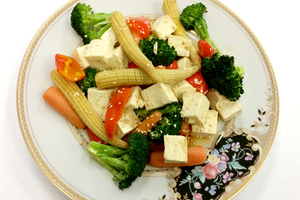 Asian Style Tofu with Vegetables - Ready. Chef. Go!
