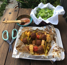 BBQ Meatball Kebabs with Couscous - Ready. Chef. Go!