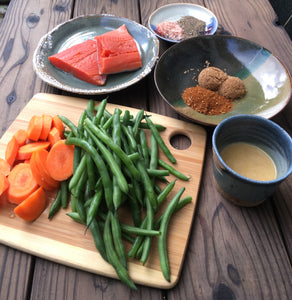 Brown Sugar Salmon with Green Beans and Carrots - Ready. Chef. Go!