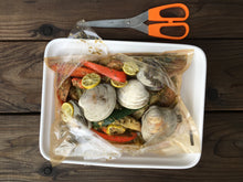 Pesto Potatoes with Peppers and Clams - Ready. Chef. Go!