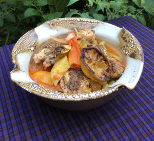 Garden Fresh Ratatouille with Herb Crusted Chicken Thighs - Ready. Chef. Go!