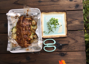 BBQ Marinated Ribs with Baby Potatoes - Ready. Chef. Go!