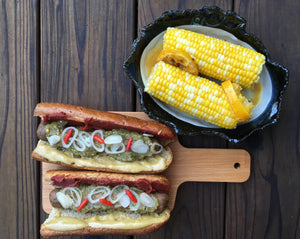 Simple Sausages & Corn - Ready. Chef. Go!
