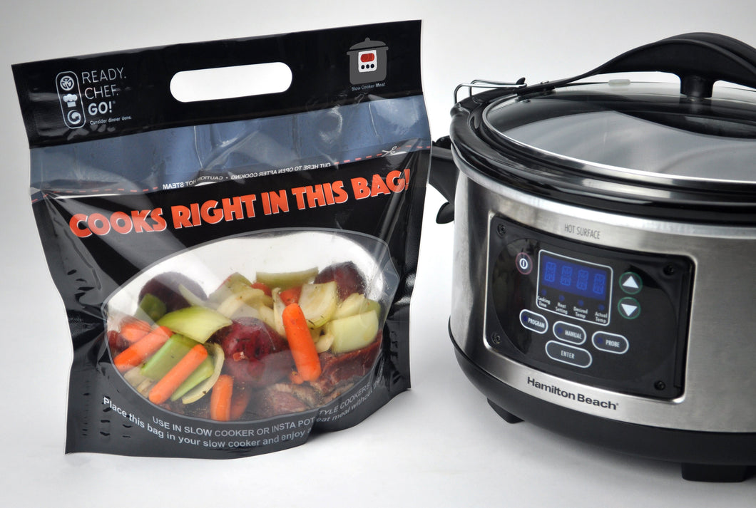 Ready. Chef. Go!® Slow Cooker Bulk Pack (Case of 250) - Ready. Chef. Go!