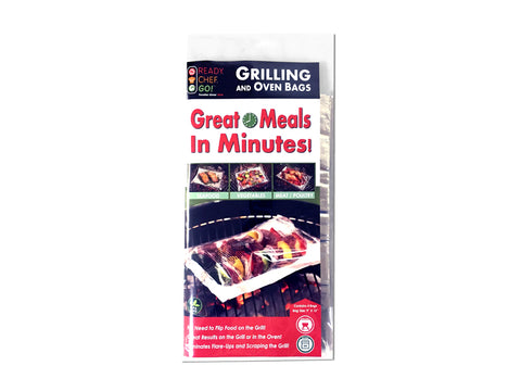 Ready. Chef. Go!® Grilling Bag Retail Pack (pack of 4)