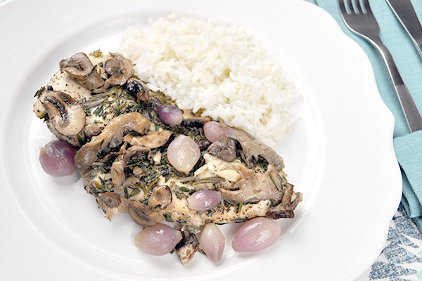Herbed Chicken and Mushrooms - Ready. Chef. Go!