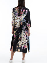 Maternity Long Cardigan in Floral Print