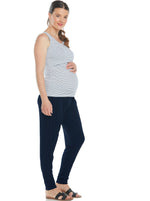 3 Piece Nursing Tank + Pants + Cake Maternity Nursing Bra Set