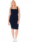 Maternity Summer Bodycon Fitted Dress