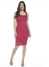 Maternity Summer Bodycon Dress - Pink