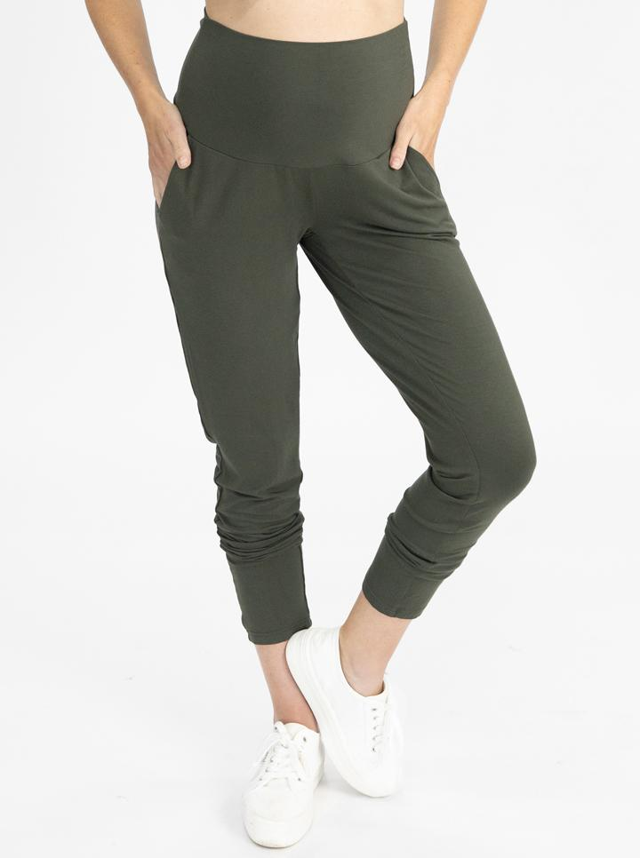 Home to streetwear set - Khaki pants
