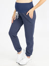 Tracksuit Set in Navy pants side