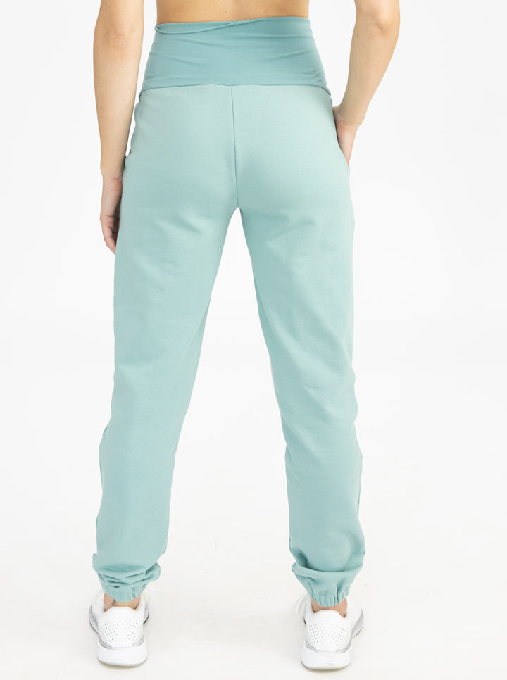 Tracksuit Set in Sage pants back